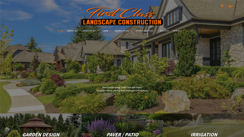 First Class Landscape Construction Inc.