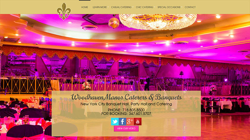 Woodhaven Manor Caterers & Banquets