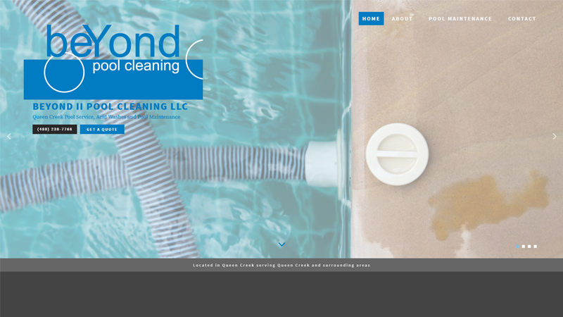 Beyond Pool Cleaning