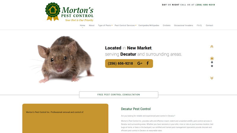 Morton's Pest Control Inc.