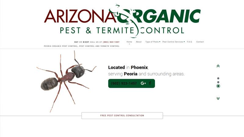 Arizona Organic Pest & Termite Control