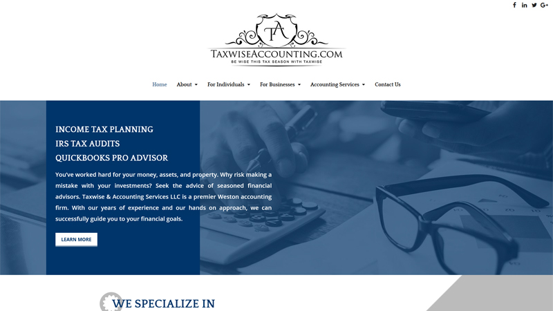 Taxwise & Accounting Services LLC