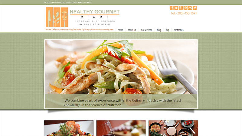 Healthy Gourmet Miami