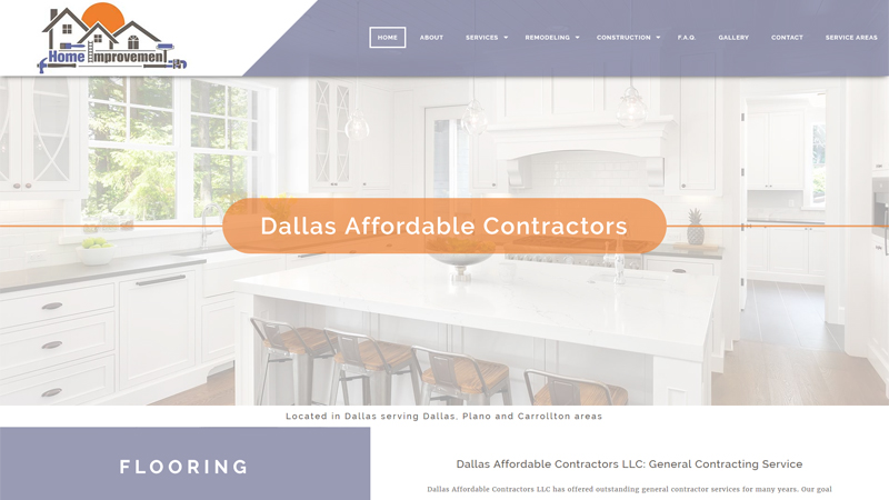 Dallas Affordable Contractors