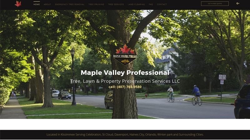 Maple Valley Professional Tree, Lawn and Property Preservation Services LLC