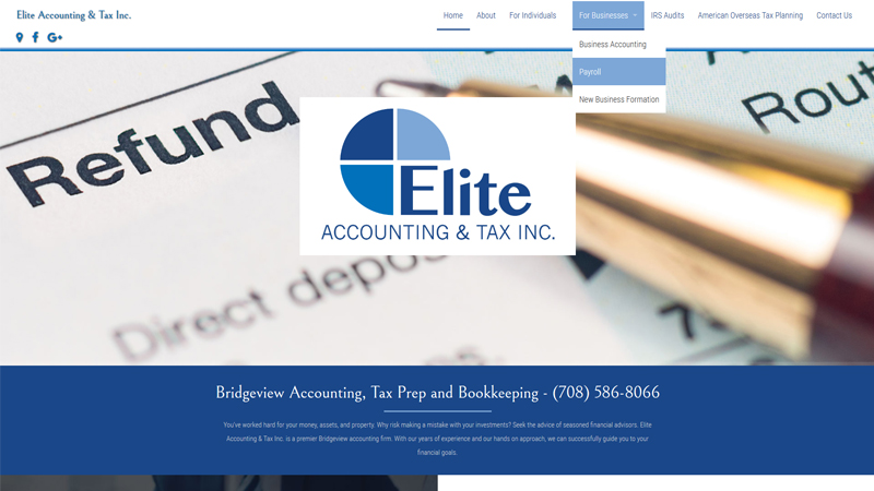 Elite Accounting & Tax Inc.