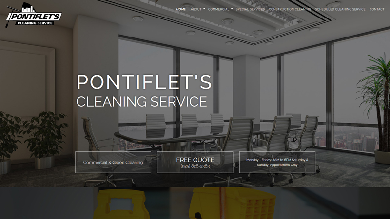 Pontiflet's Cleaning Service