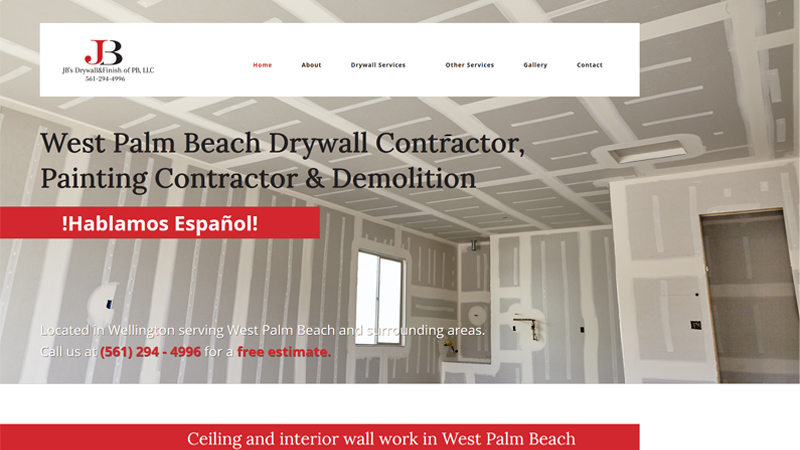 JB's Drywall & Finish of PB, LLC.