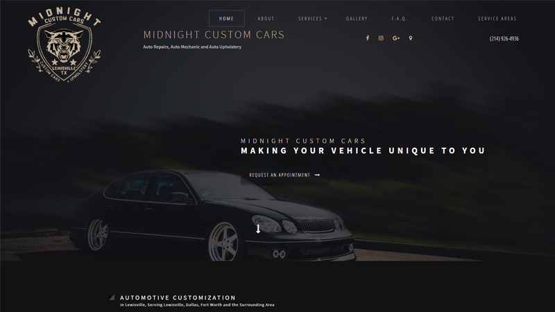 Midnight Custom Cars