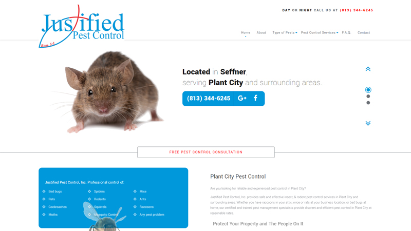 Justified Pest Control, Inc
