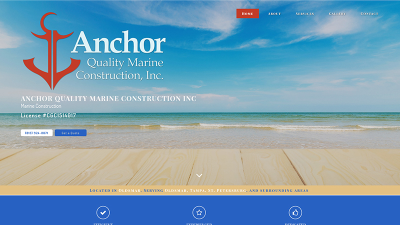 Anchor Quality Marine Construction Inc.