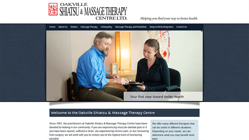 Oakville Shiatsu & Massage Therapy Centre