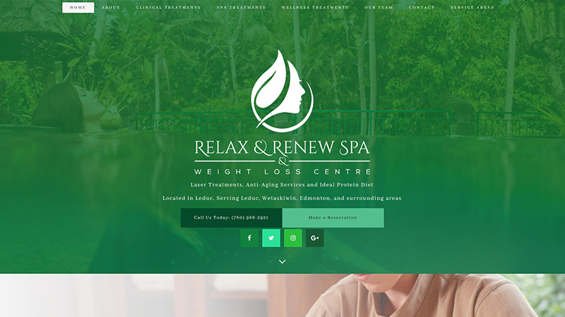 Relax & Renew Spa Inc.
