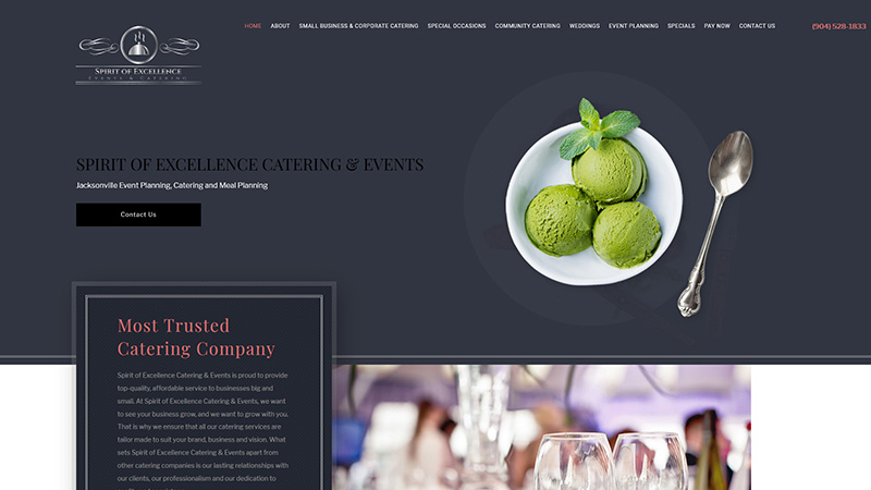 Spirit of Excellence Catering & Events