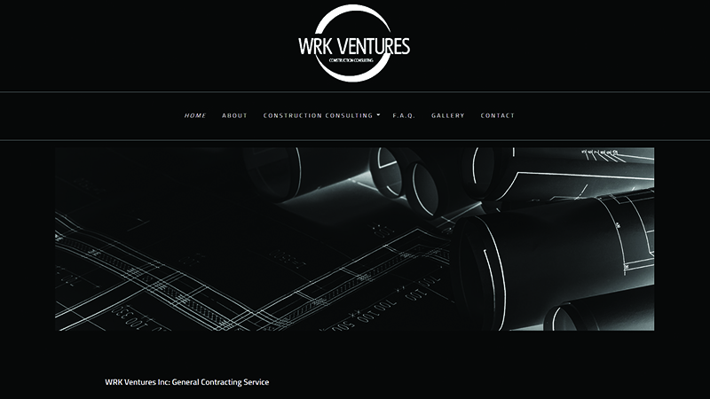 WRK Ventures Inc