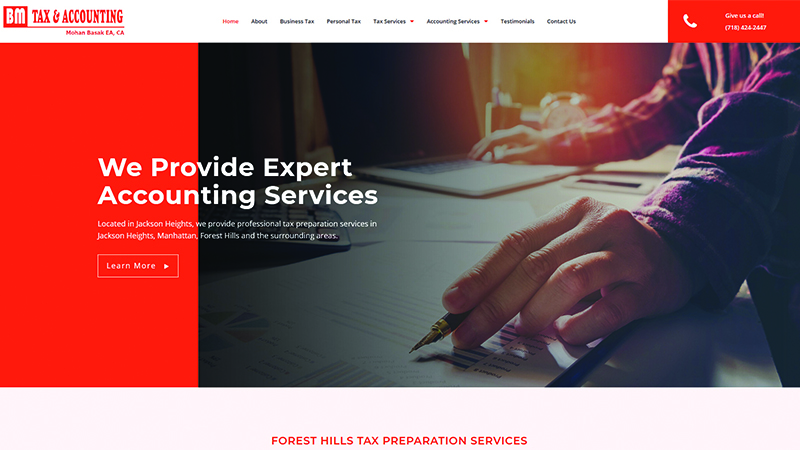 B M Tax & Accounting Services Inc