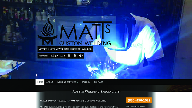 Matt's Custom Welding