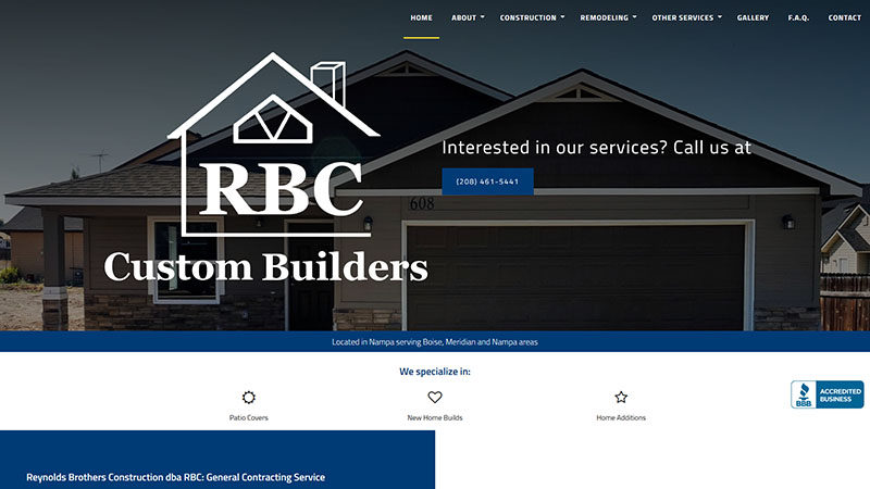 Reynolds Brothers Construction