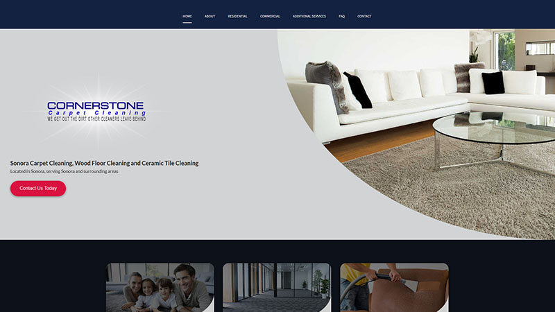 Cornerstone Carpet Cleaning