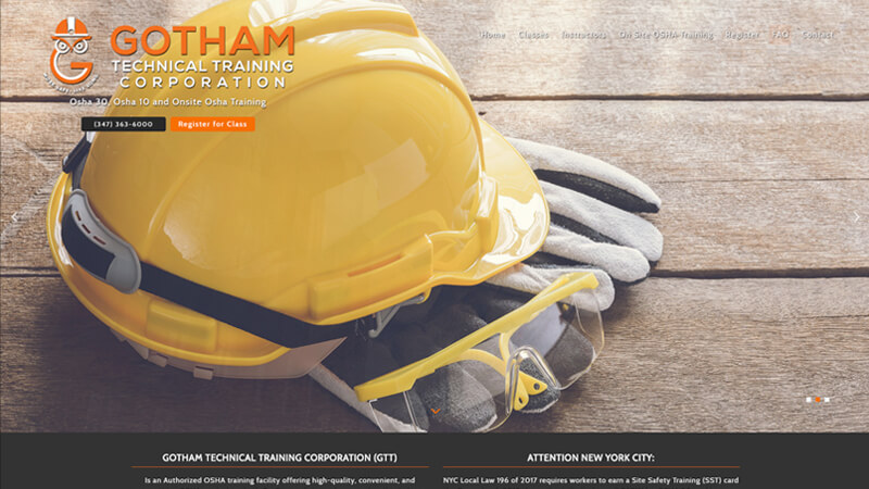 Gotham Technical Training Corporation
