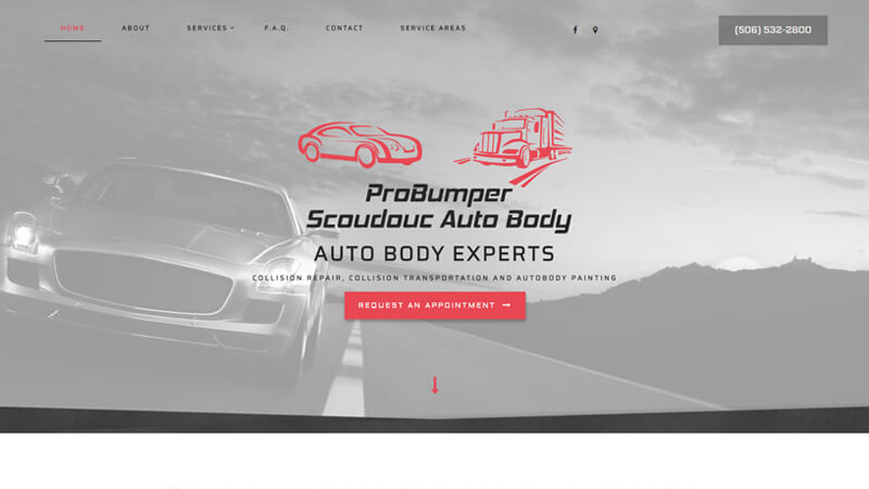 Pro Bumper Scoudouc Autobody