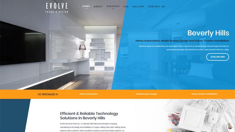 Evolve Sound & Vision Inc