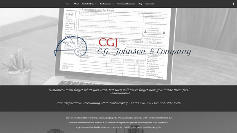 C.G. Johnson & Company