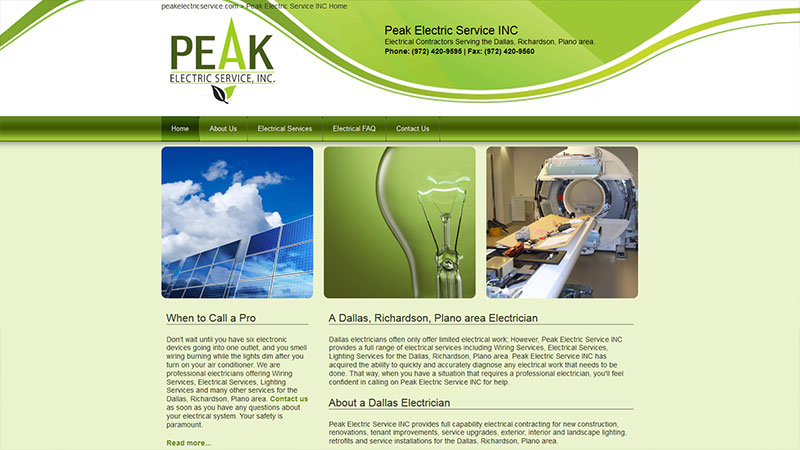 Peak Electric Service
