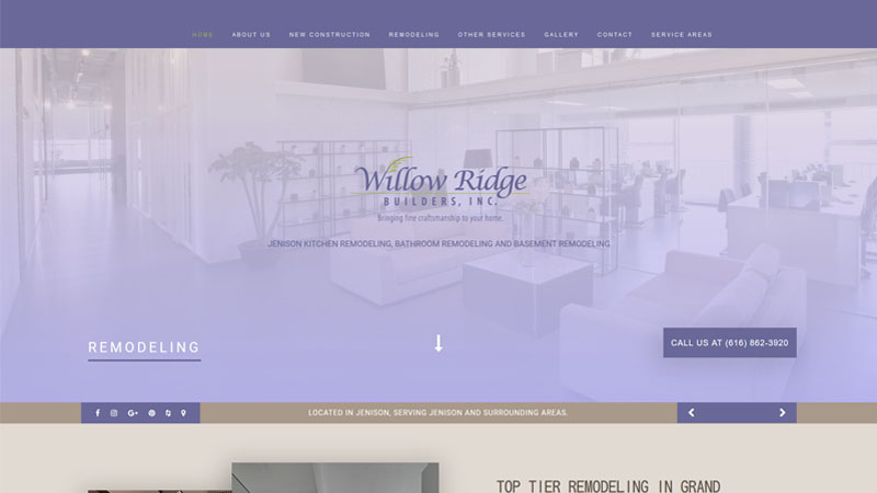 Willowridge Builders Inc