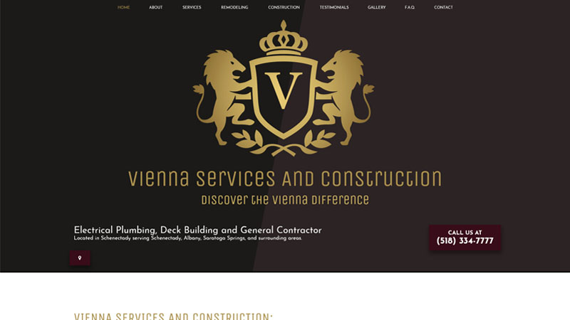 Vienna Services And Construction
