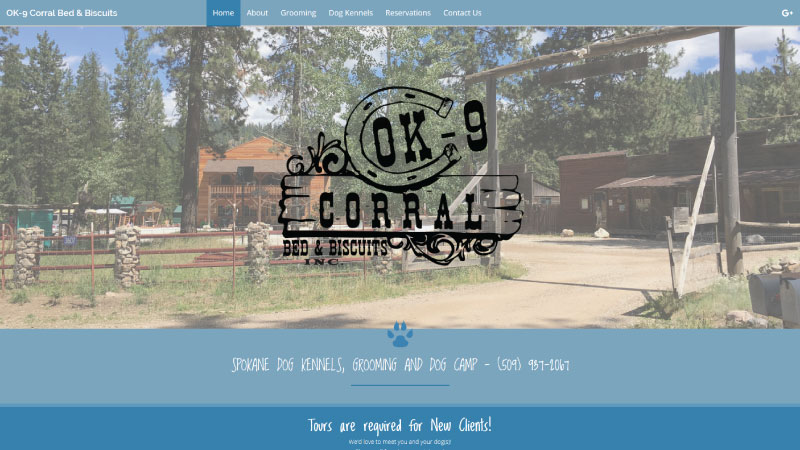 OK-9 Corral Bed & Biscuits