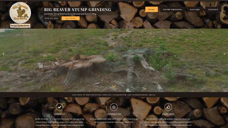 Big Beaver Stump Grinding