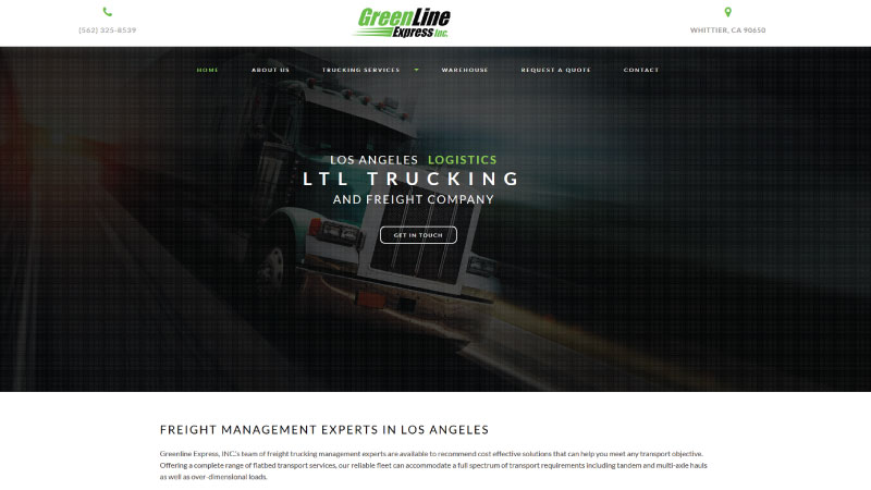 Greenline Express, INC