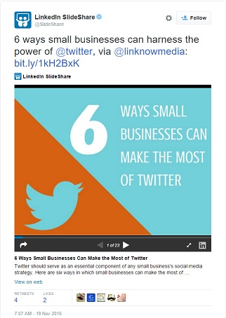 It certainly doesn't hurt when a trusted website like LinkedIn shares your content!