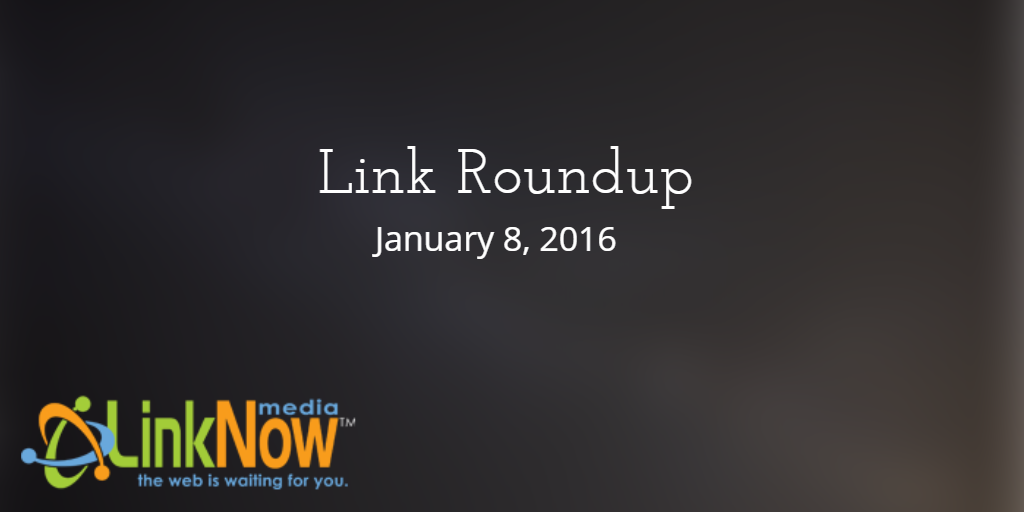 Link Roundup