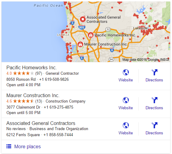 Google Local Stack