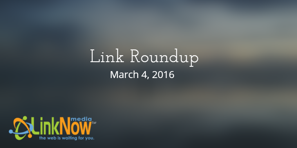 Link Roundup