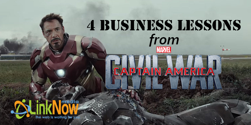 4 Business Lessons from Captain America: Civil War