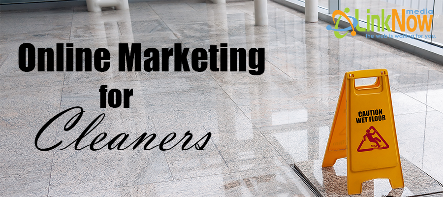 Online Marketing for Cleaners