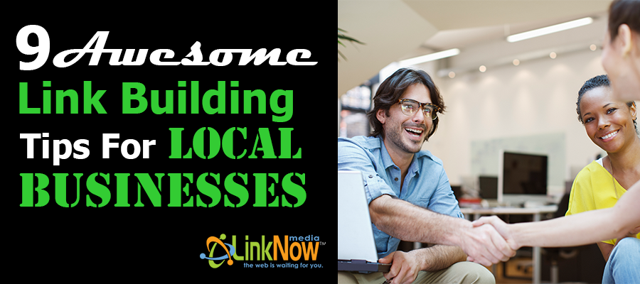 9 Link Building Strategies for Local Businesses banner