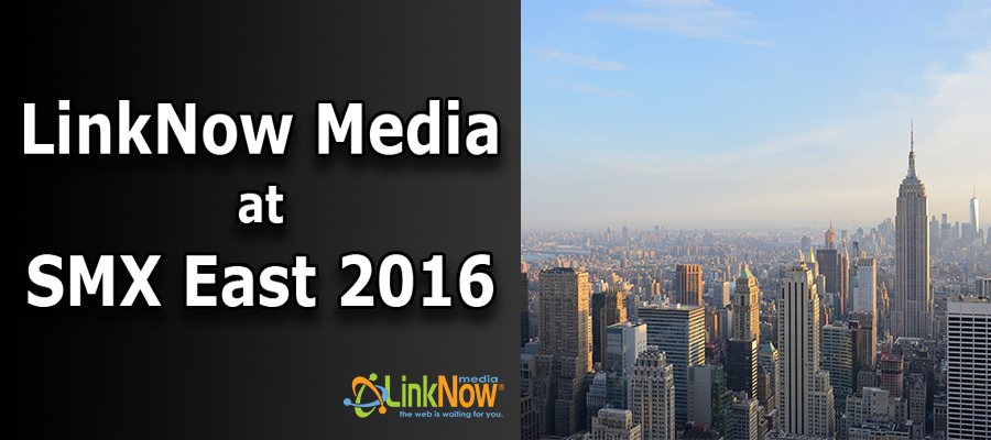 LinkNow Media at SMX East 2016