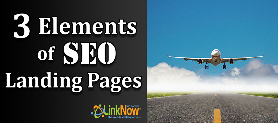 3 elements of successful SEO landing pages blog