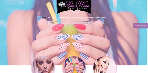 Pink & White Nail Studio