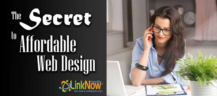 Secret to Affordable Small Business Website Design